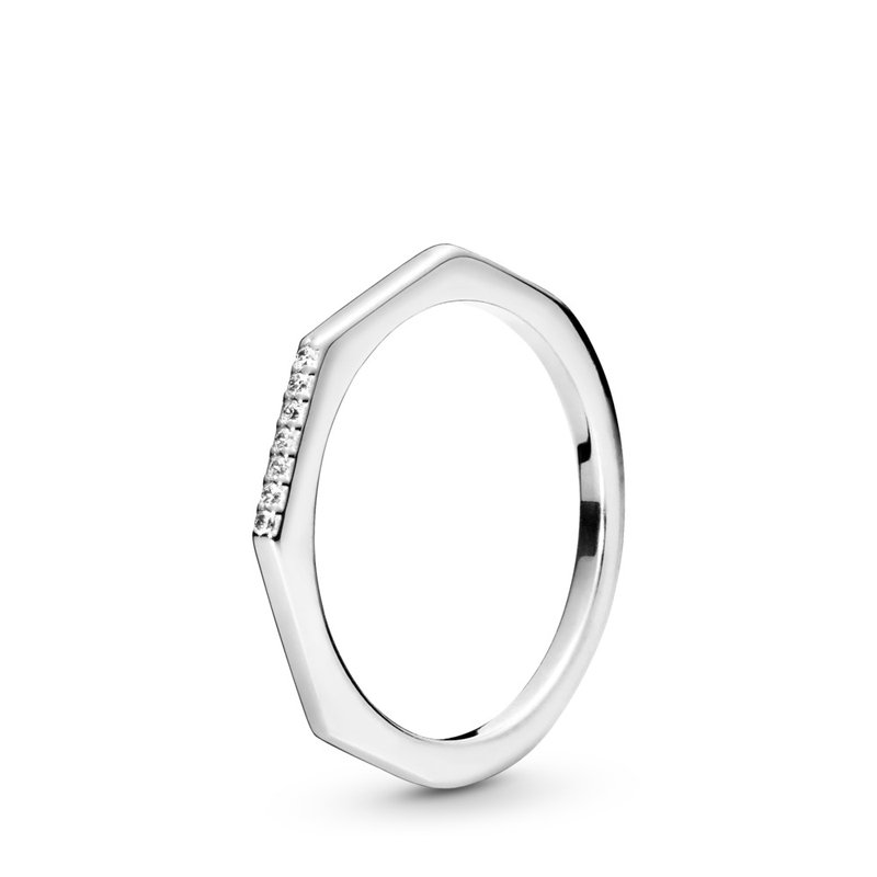 Pandora Multifaceted Ring, size 4.5