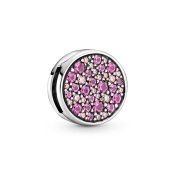 Reflexions, Pink Pavé Clip Charm