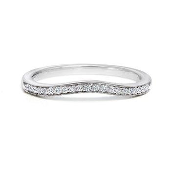 Diamond Wedding Band 0.11tdw