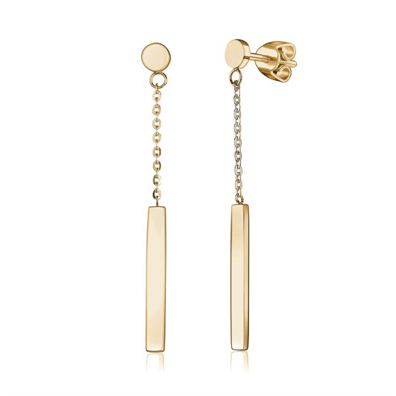 Italgem Bar Dangle Earrings