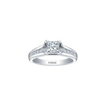 18k Canadian Diamond Engagement Ring