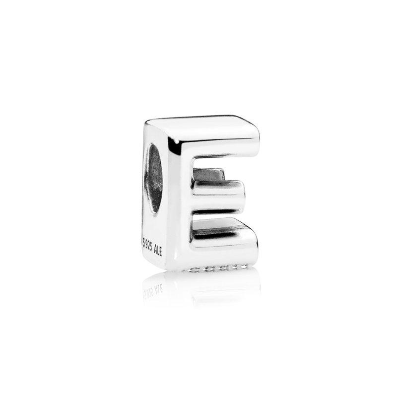 Pandora Letter E Alphabet Charm