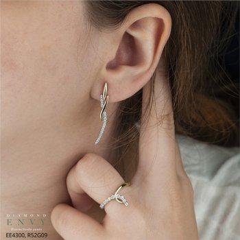 10K Drop Earrings