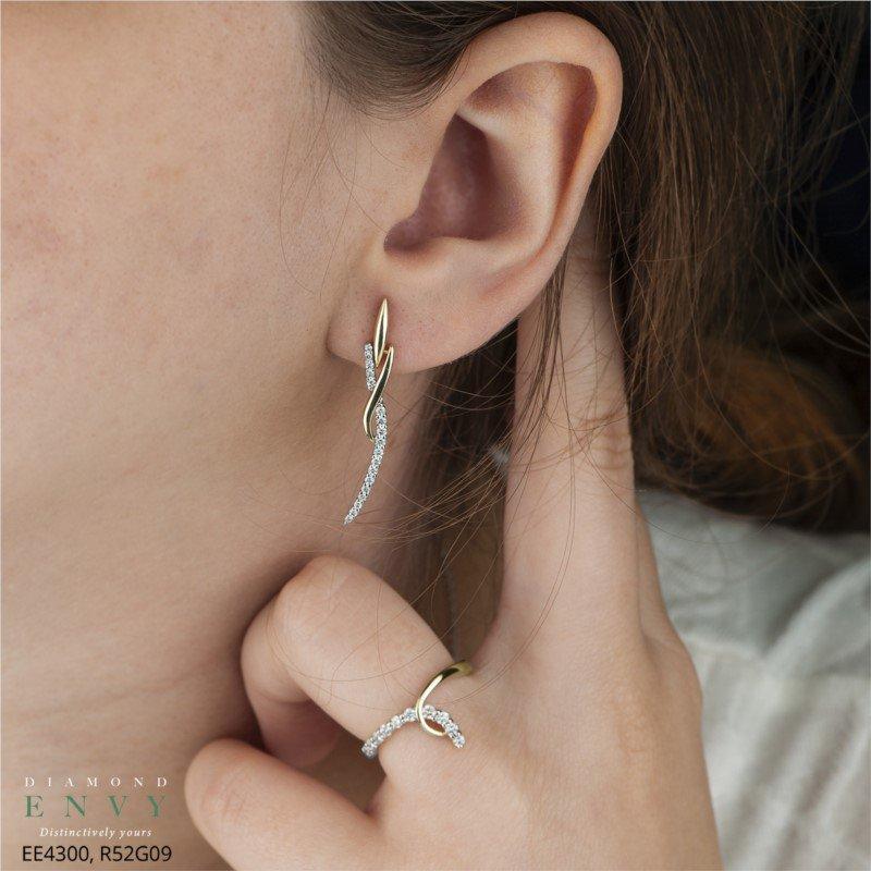 Diamond Envy 10K Drop Earrings