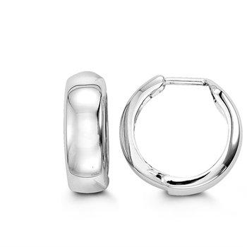 10k Bella Huggie Earrings