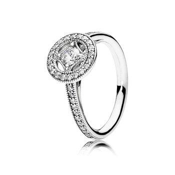 Vintage Circle Ring, size 6.0