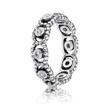 Her Majesty Ring, Clear CZ, size 6.0 - FINAL SALE