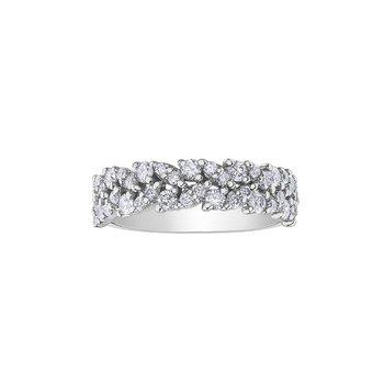 10K Diamond Band 0.75ctw