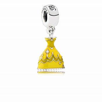 Disney, Belle's Dress Dangle Charm - FINAL SALE