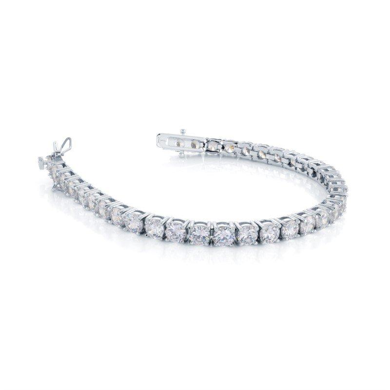 Italgem CZ Tennis Bracelet