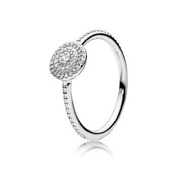 Elegant Sparkle Ring, size 7.5