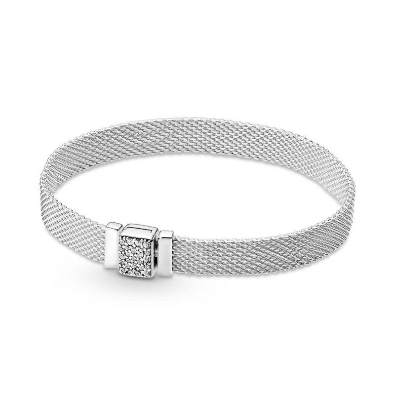 """Pandora Reflexions Sparkling Clasp Bracelet, 7.1"""""""