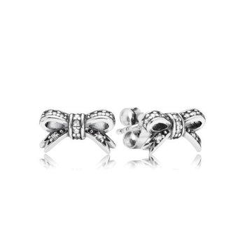 Delicate Bow Stud Earrings - FINAL SALE