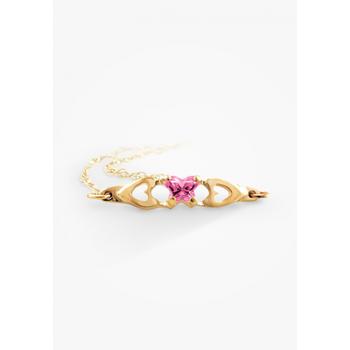 10k Child's Birthstone Bracelet, October