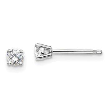 14K Lab Grown Diamond Studs, 0.20ct
