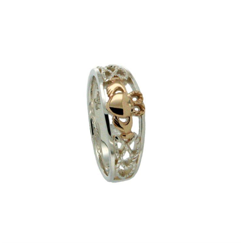 "Keith Jack ""Claddagh"" Ring, sz 6.0"