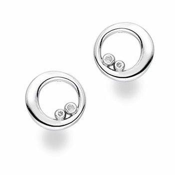 """Bubble"" Diamond Earrings"