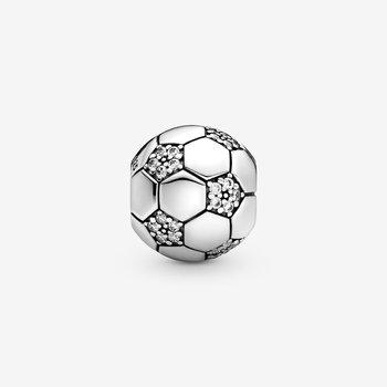 Sparkling Football (Soccer) Charm