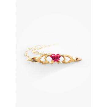10k Child's Birthstone Bracelet, July