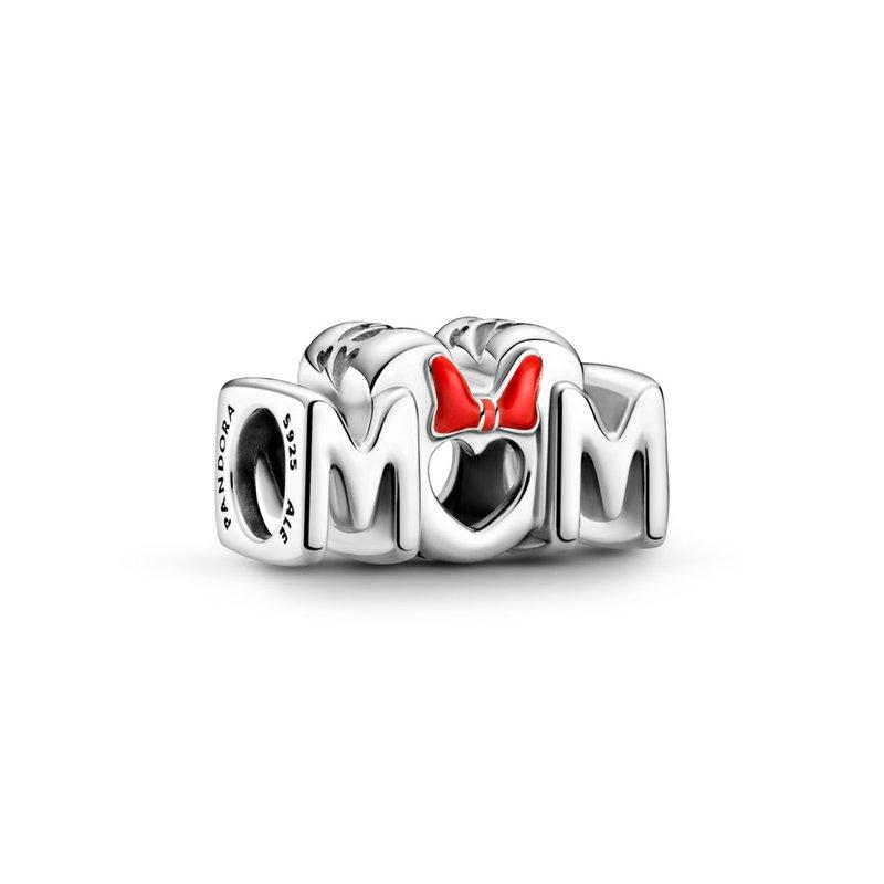 Pandora Disney, Minnie Mouse Bow & Mom Moments Charm