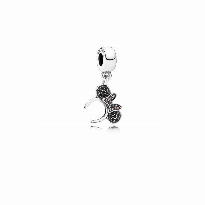 Pandora Disney, Minnie Headband Dangle Charm