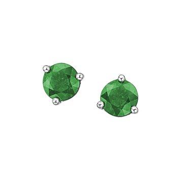 10K May Birthstone Earrings