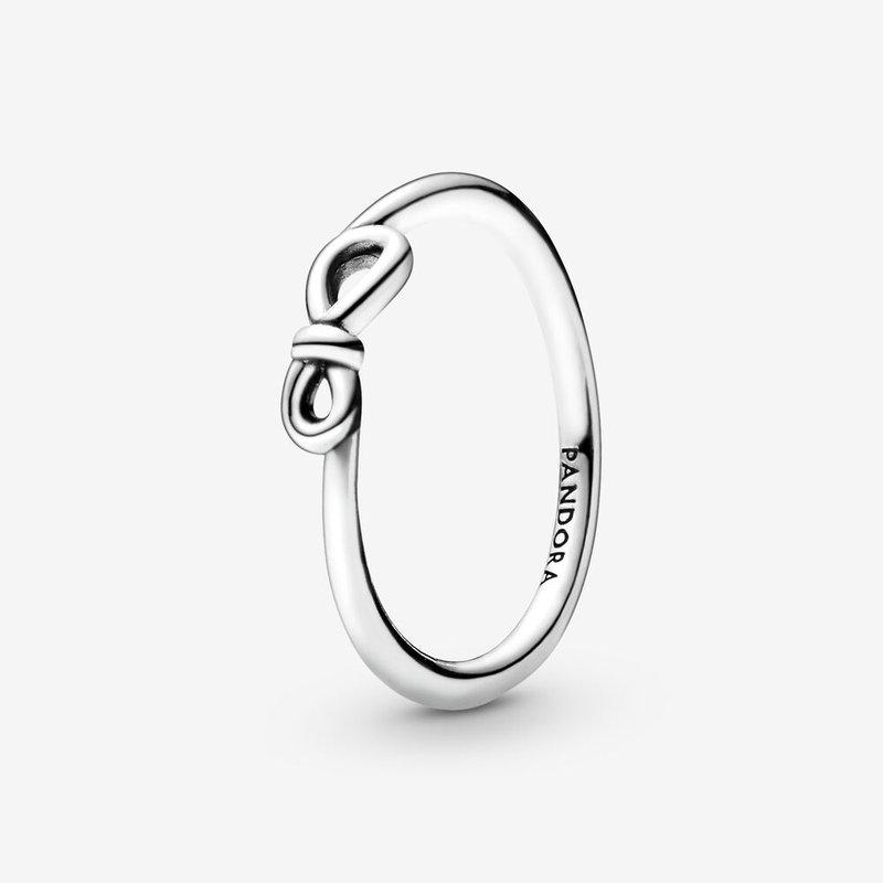 Pandora Infinity Knot Ring, size 7.5