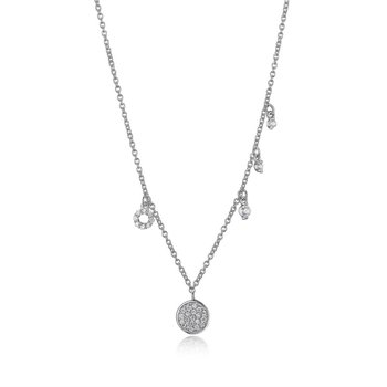 Reign Sterling Silver Necklace