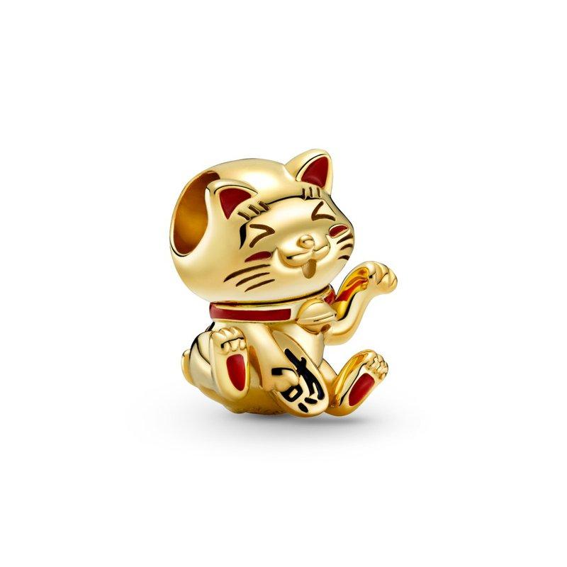 Pandora Cute Fortune Cat Charm