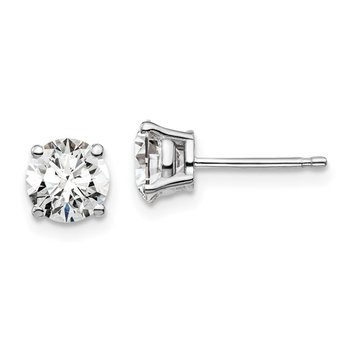 14K Lab Grown Diamond Studs, 0.66ct
