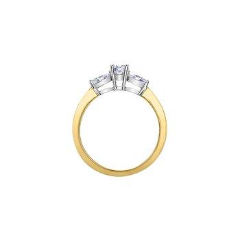 10K Engagement Ring, 0.47 TDW