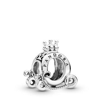 Polished Crown 'O' Carriage Charm - FINAL SALE