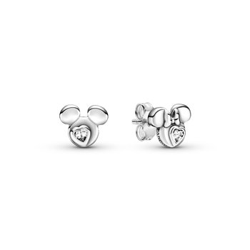 Disney Mickey Mouse & Minnie Mouse Silhouette Stud Earrings