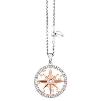 Compass Star Pendant, 20mm