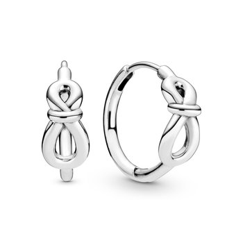 Infinity Knot Hoop Earrings - FINAL SALE