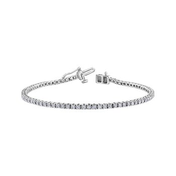 10KW 3.00CTW Diamond Tennis Bracelet
