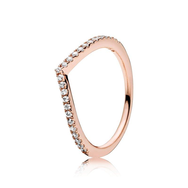 Pandora Shimmering Wish Ring, size 4.5