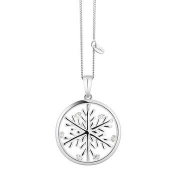 Lucky Snowflake Pendant, 20mm