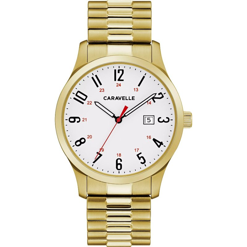 Caravelle Traditional Gents Watch