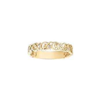 10K Diamond Ring, 0.04 TDW