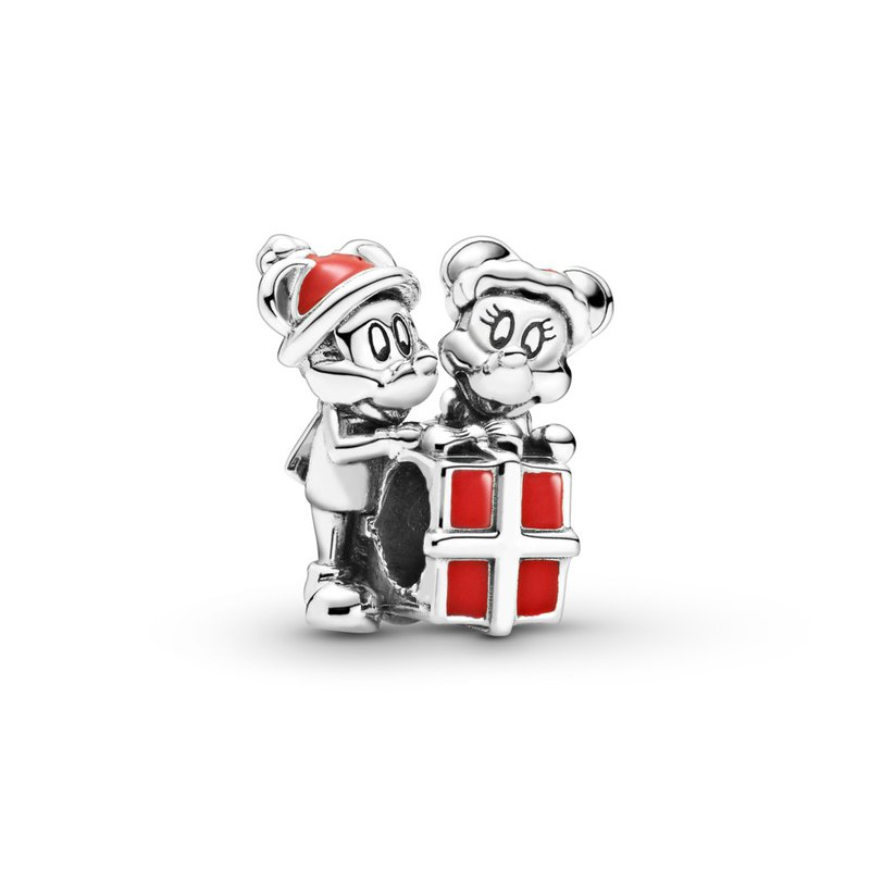 Pandora Disney, Mickey Mouse and Minnie Mouse Present Charm