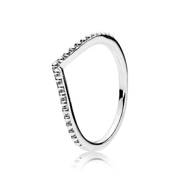 Beaded Wish Ring, size 7.0