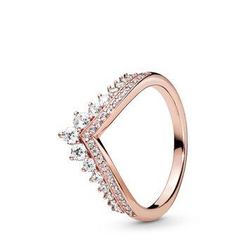 Princess Wishbone Ring, size 7.5