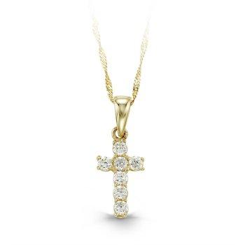 Baby Bella Cross Necklace