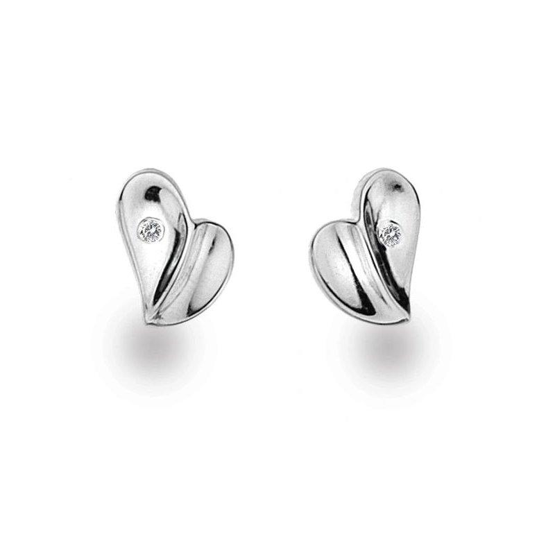 """White Ice """"Flutter"""" Diamond Earrings"""