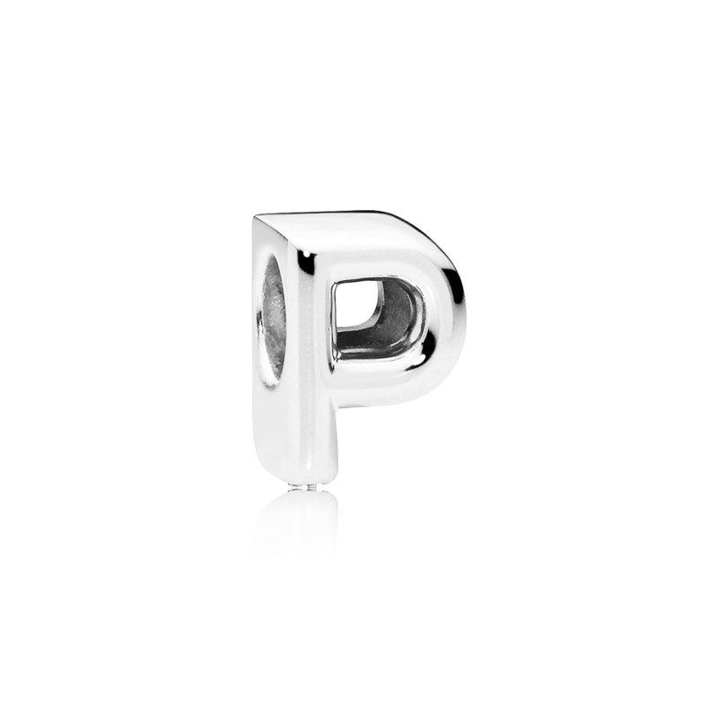 Pandora Letter P Alphabet Charm
