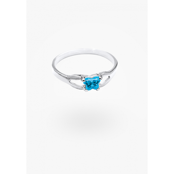 December Birthstone Ring Sz 2