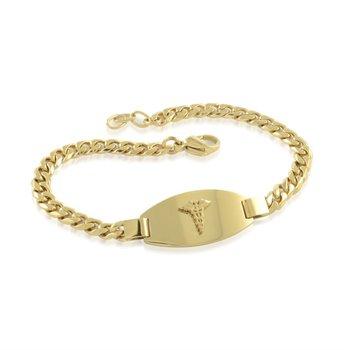 Yellow IP Medical Bracelet