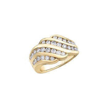 10k 1.00 TDW Diamond ring