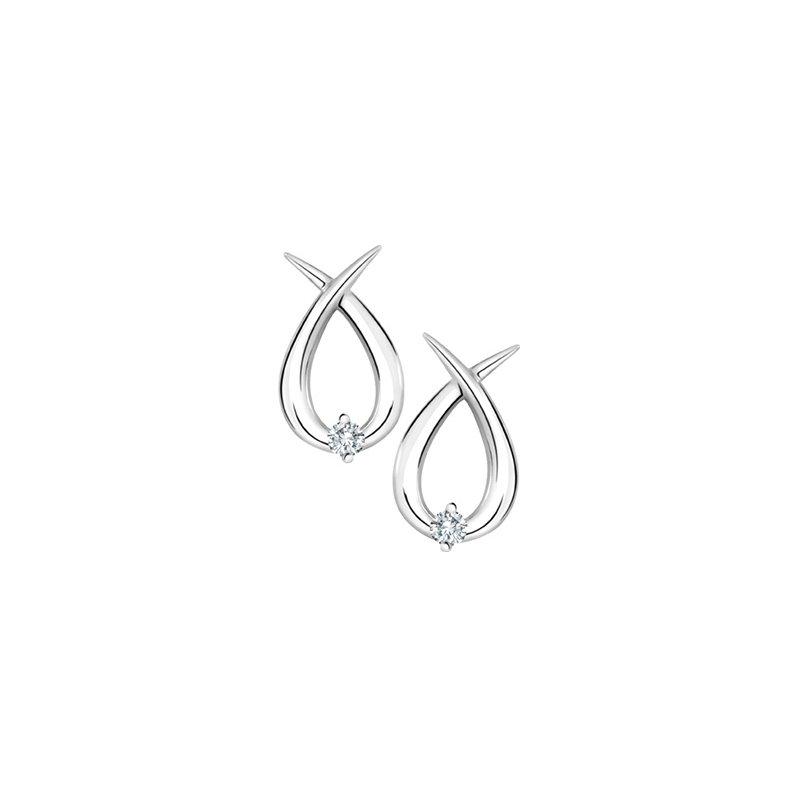 Forever Jewellery 10K Diamond Earrings